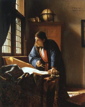 Johannes Vermeer : The Geographer